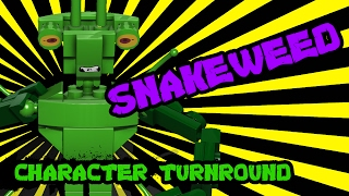 LEGO Character Turnaround: Snakeweed | TwinToo Bricks