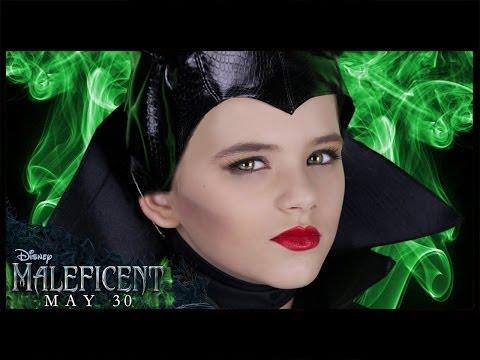 Disney's Maleficent Makeup Tutorial! Angelina Jolie  | KittiesMama