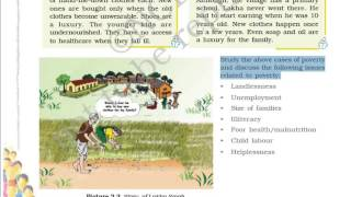 Class 9 Economics Chapter 3 Poverty As A Challenge Part 1 Hindi Explanation