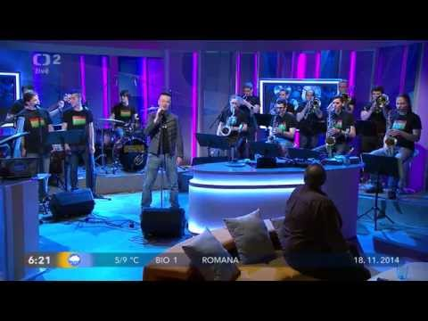 Jiri Sevcik + PIRATE SWING Band - Bohemian Rhapsody + Interview (live, Dobré ráno 2014)