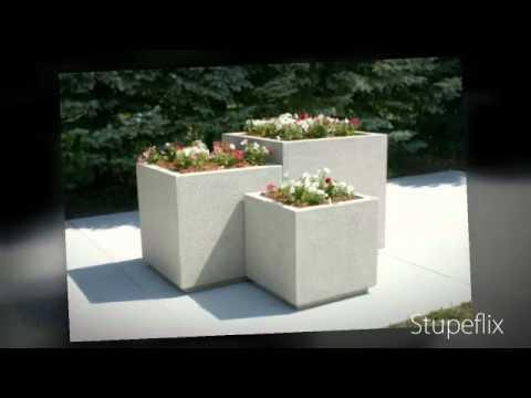 Heavy Duty Concrete Planters   Doty & Sons Concrete Products   Concrete Planters
