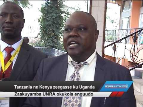Tanzania ne Kenya zeegasse ku Uganda