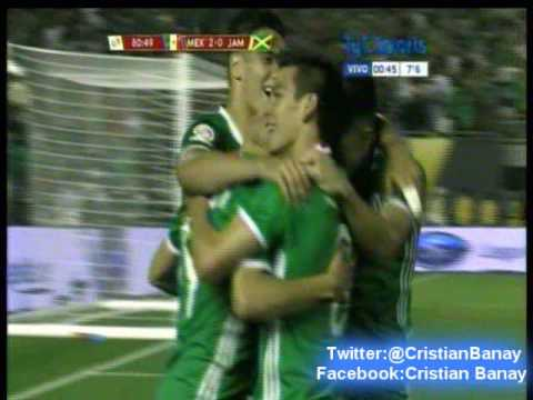 Mexico 2 Jamaica 0 (Relato Julian Bricco) Copa America Centenario 2016