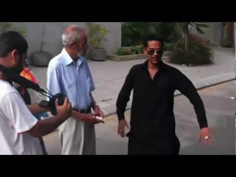 Waderai Ka Beta - Ali Gul Pir Behind The Scenes video