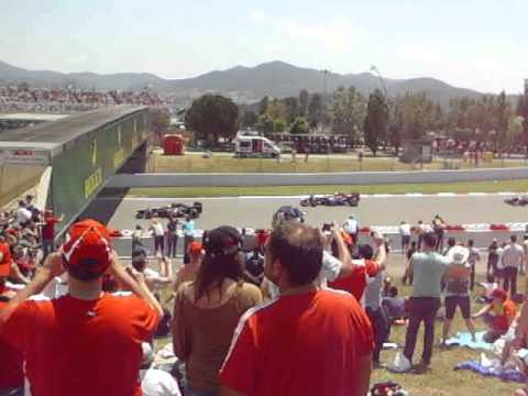 F1 2013 Spain GP LIVE formation lap