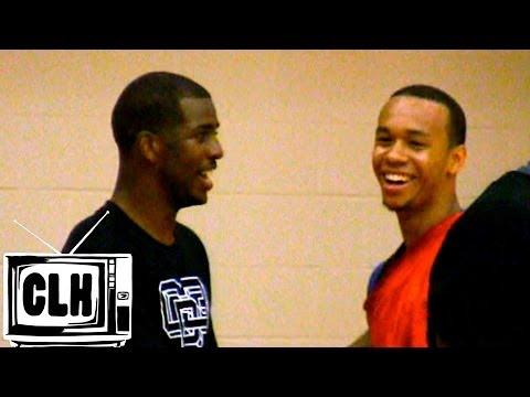 Shabazz Napier goes toe to toe with Chris Paul - Miami Heat 2014 NBA Draft Prospect