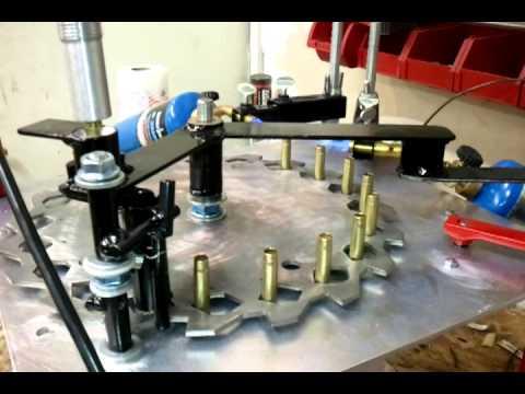 Anneling 7.62x40wt brass