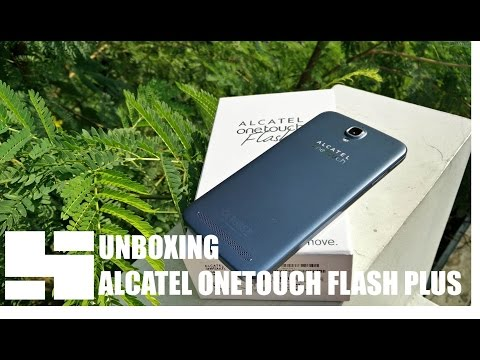 Unboxing Alcatel OneTouch Flash Plus Indonesia