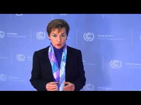 ¿Cómo abordaremos el cambio climático? Christiana Figueres, Secretaria Ejecutiva CMNUCC/UNFCCC