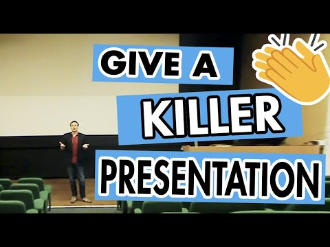 Killer Presentation Skills: Enter & Leave A Stage To Thunderous Applause - Episode #17