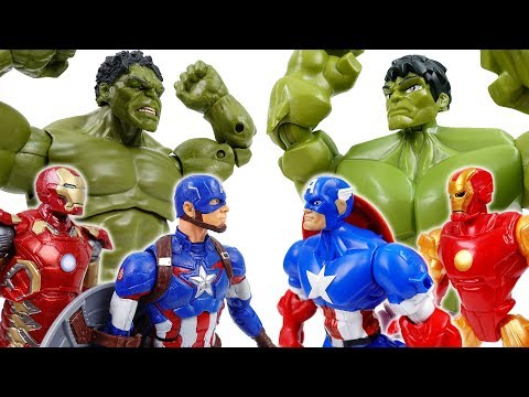 Avengers Vs. Avengers~! Defeat Dinosaur Together