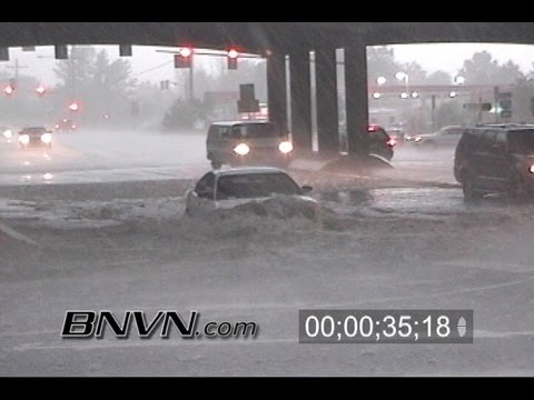 6/24/2006 Wheat Ridge Colorado Flooding Video
