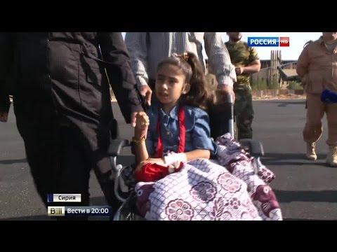 После ампутации ног сирийскую девочку спасают в Москве