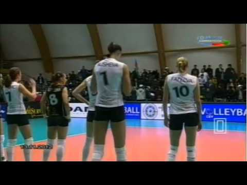 2013 CEV Volleyball Cup - Women: Igtisadchi BAKU VS Omichka OMSK REGION (13Nov2012), Almost Full