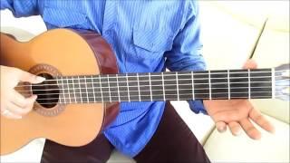 Belajar Kunci Gitar D'Bagindas CINTA Petikan Mudah