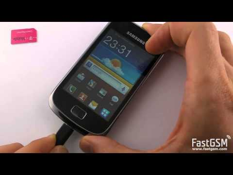 Unlock Samsung Galaxy Mini 2. S6500. S6500D by USB