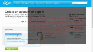 Kako saznati(vratiti) sifru na Skype account-u i kako napraviti Skype account
