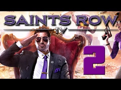 Saints Row IV – Gameplay Walkthrough Part 2 – The Saints Wing