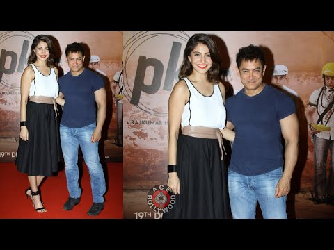 Aamir Khan & Anushka Sharma at PK Interview