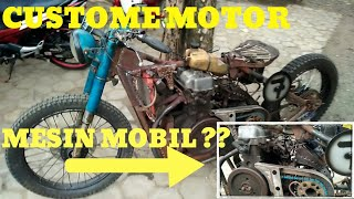 REVIEW CUSTOME MOTOR MESIN MOBIL