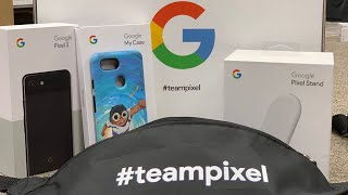 Unboxing the #teampixel Box