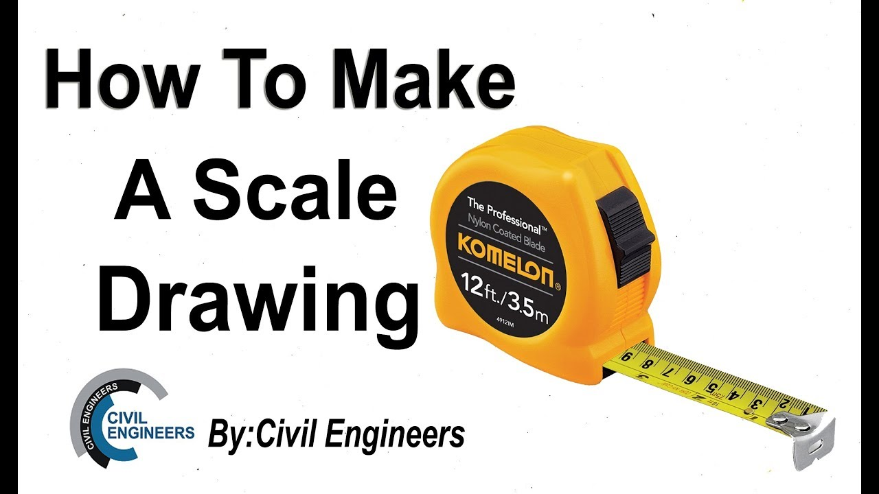 How to draw a scale diagram