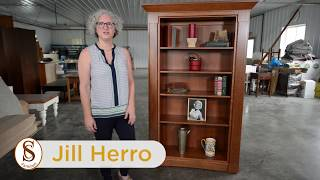 Secret Compartment Furniture -  Hidden Secrets in our Tall Bookcase