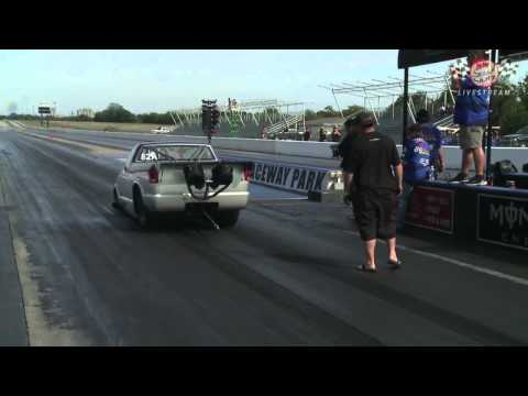 Larry Larson Smashes World Record: Runs 6.16 at 219 MPH In Street-Lega Car