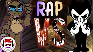 Five Nights At Freddy's VS Bendy And The Ink Machine Rap Battle | Freddy Vs Bendy | Rockit Gaming