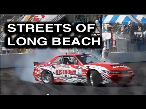 Behind the Smoke Season 2 - Ep 2: Streets of Long Beach - Daijiro Yoshihara Formula Drift 2012