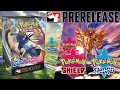 INCREDIBLE Pokemon Sword and Shield Prerelease Opening! | Sunshine Games Tampa FL