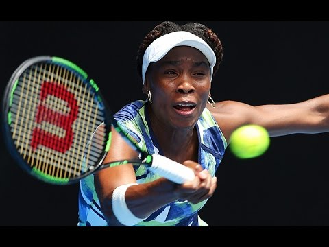 Australian Open: Venus Williams in first-round loss to Johanna Konta