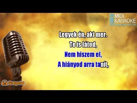 Ákos - Felemel karaoke demó