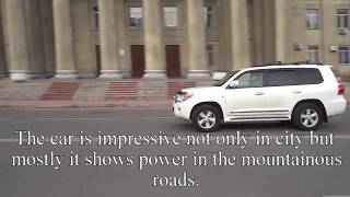 Toyota Land Cruiser 200 Car for rent in Kyrgyzstan