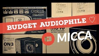 Micca Loves Budget Audiophiles   Product Reviews: MB42X, PB42X, ON3, A250, AD250, MS10, MS12