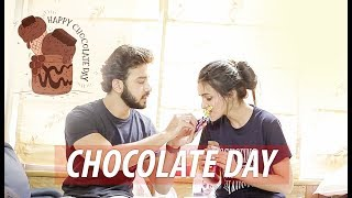 Samridh Bawa and Ankita Sharma Celebrated Chocolate Day | Valentines Week Special