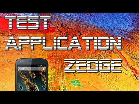 Test De L'application Zedge : Des Milliers De Fonds D'écrans Et Et Sonneries Gratuite video