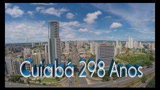 Brasil Visto de Cima Cuiabá 298 Anos