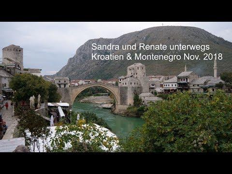 Sandra und Renate mit RSD -Reisen in Kroatien ,  Bosnien-Herzegowina & Montenegro 2018