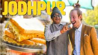 ULTIMATE Rajasthan Street Food Tour   Indian Food in Jodhpur   FAMOUS OMELETTE SHOP + Pure Veg FEAST