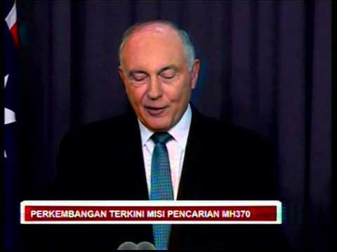 6 Ogos - SIDANG MEDIA TERBARU OPERASI CARIAN MH370 : WARREN TRUSS
