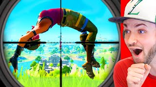 100 LUCKIEST Fortnite clips you'll EVER SEE!