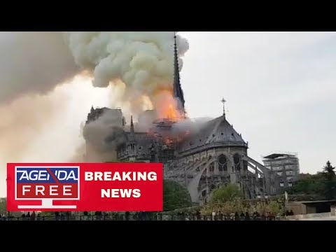 Fire at Notre Dame Cathedral - LIVE BREAKING NEWS COVERAGE