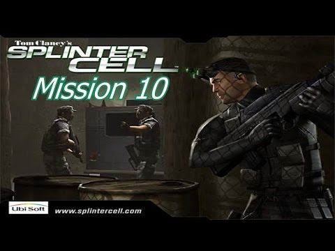 Let's Play Splinter Cell 1 - Mission 10 - Chinese Embassy Part 2 (PS2)