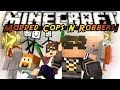 Minecraft Mini-Game : MODDED COPS N ROBBERS! WEIRD MOBS!