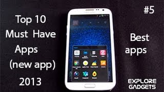 Top 10 Must Have Android Apps 2013 : Best Android Apps #5