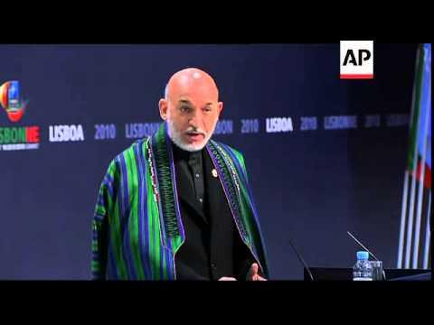 Rasmussen, Karzai, Ban Ki-moon and Merkel comment