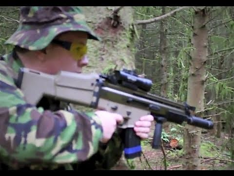 Airsoft War Scar L. Marui L96 Section8 Scotland HD