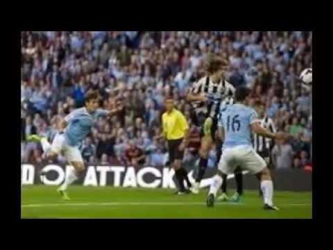 Newcastle United 0 vs Manchester City 2 Premier League Match 2014