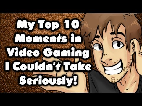 My Top 10 Moments in Video Gaming I Couldn't Take Seriously!  Caddicarus